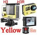 100% H3 H8se Ultra HD 4 K Câmera de Ação Esporte h3r controle remoto wi-fi 1080 p 2.0 lcd dual screen 170 go pro hero 4 à prova d' água K