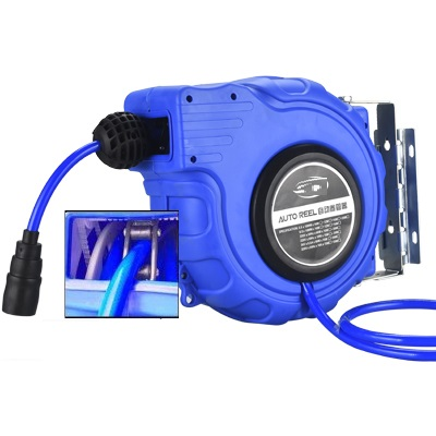 Retractable Hose Reels Professional Hose Drums Water Air Compressor Tools 10-30M