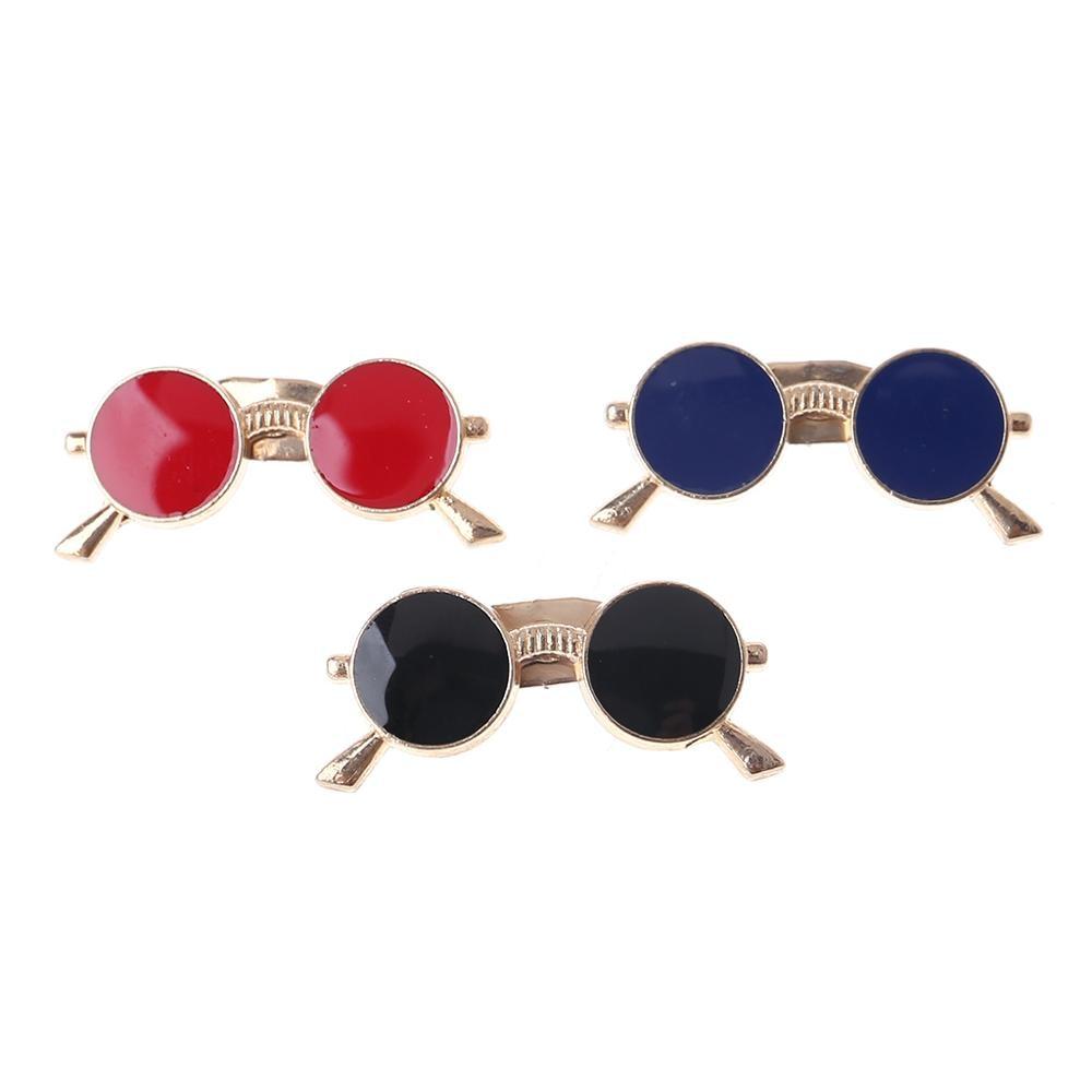 Javrick Vintage Enamel Lapel Pin Small Sunglasses Brooch