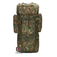 Outdoors Tactical Military Army Rucksack 65L Large Capacity Rain Cover Camping Trekking Shoulder Bag Backpack for Hiking Travel