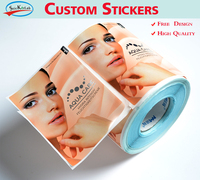 Custom Stickers And Then Die Cut Stickers Label Tags With Series Number Personalize Printed Stickers UV