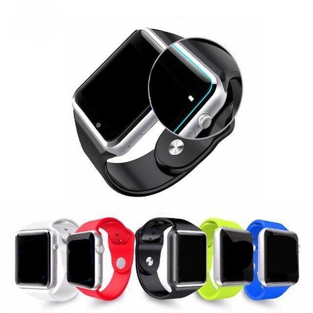 imágenes para A1 W8 Inteligente Reloj Bluetooth Del Teléfono Smartwatch Apoyo SIM TF tarjeta Inteligente Relojes Con Correa de Silicona Teléfono Inteligente DZ09 VS U8 GT08
