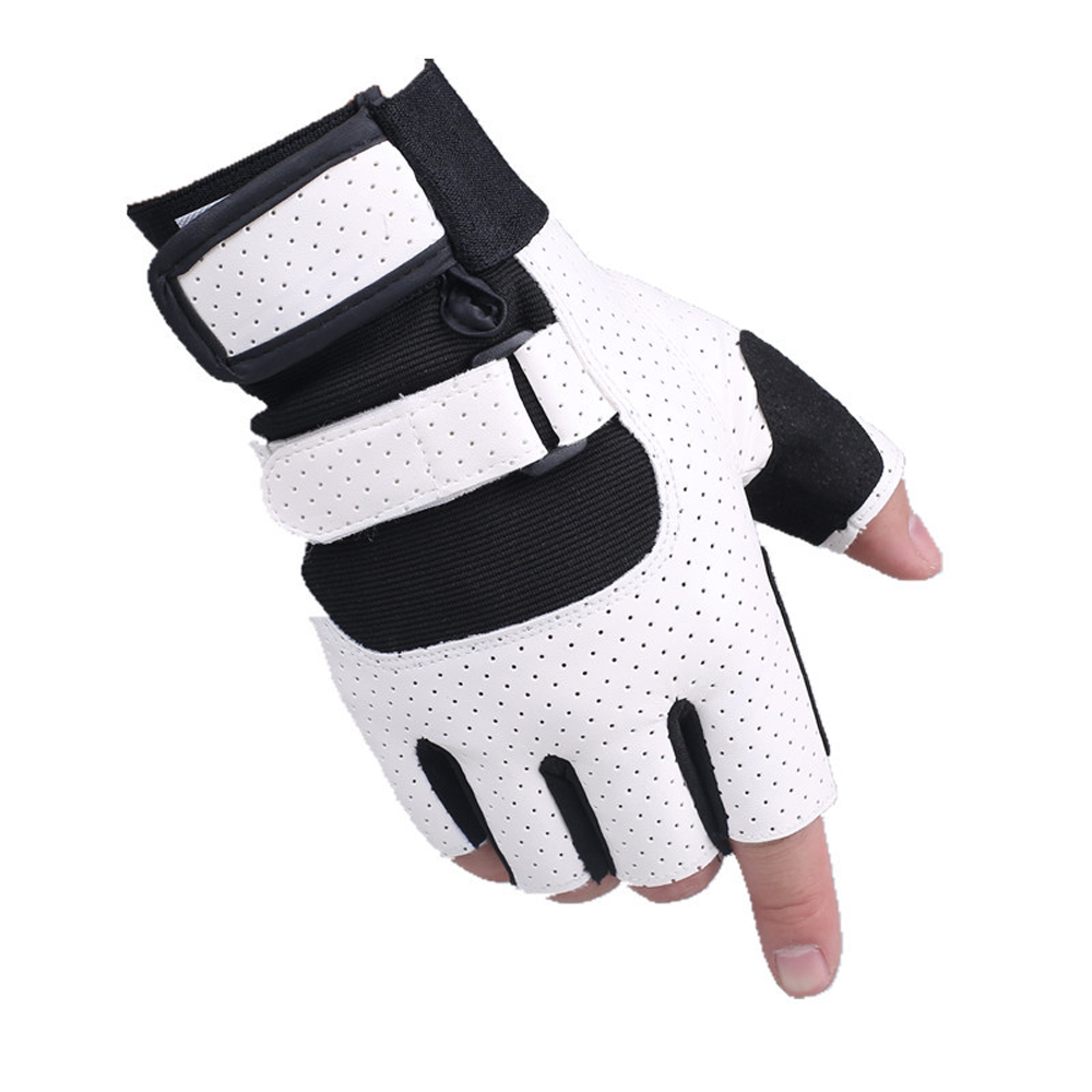 KUYOMENS Mountain Bike Glove Sports semi-finger breathable wear-resistant Exercise Train ...