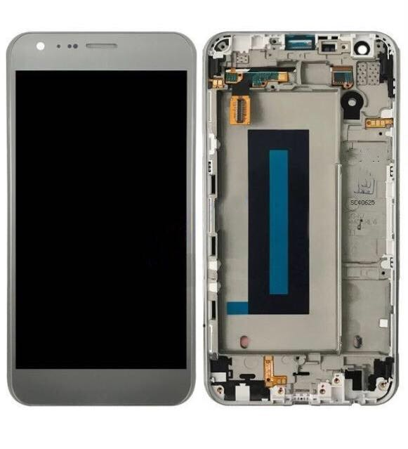 For LG X CAM K580 K580I K580Y K580DS LCD Display Touch Screen Digitizer With Glass Full Assembly With Frame Replacement Test 100