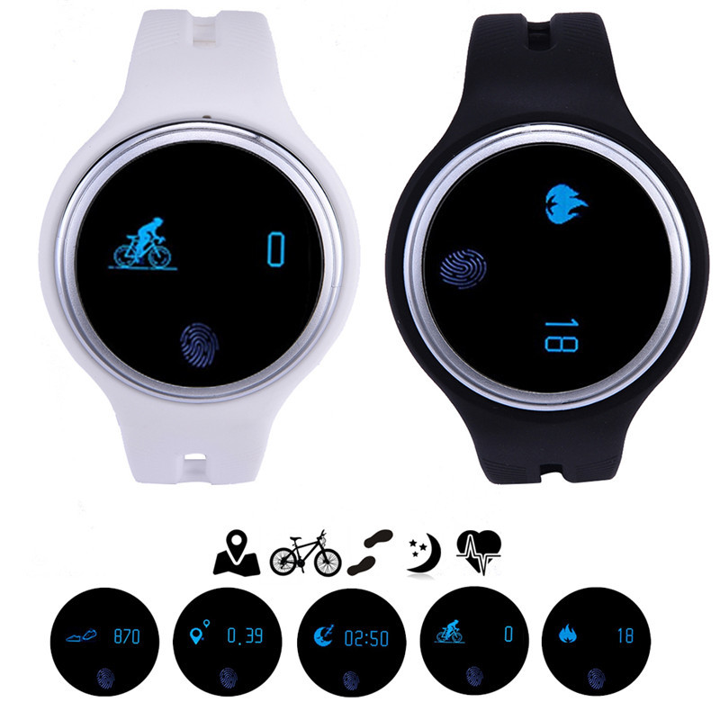 E07 Waterproof Bluetooth Smartwatch for IOS Android phone Smart Wearable Devices Passometer Fitness Tracker Bracelet Smart