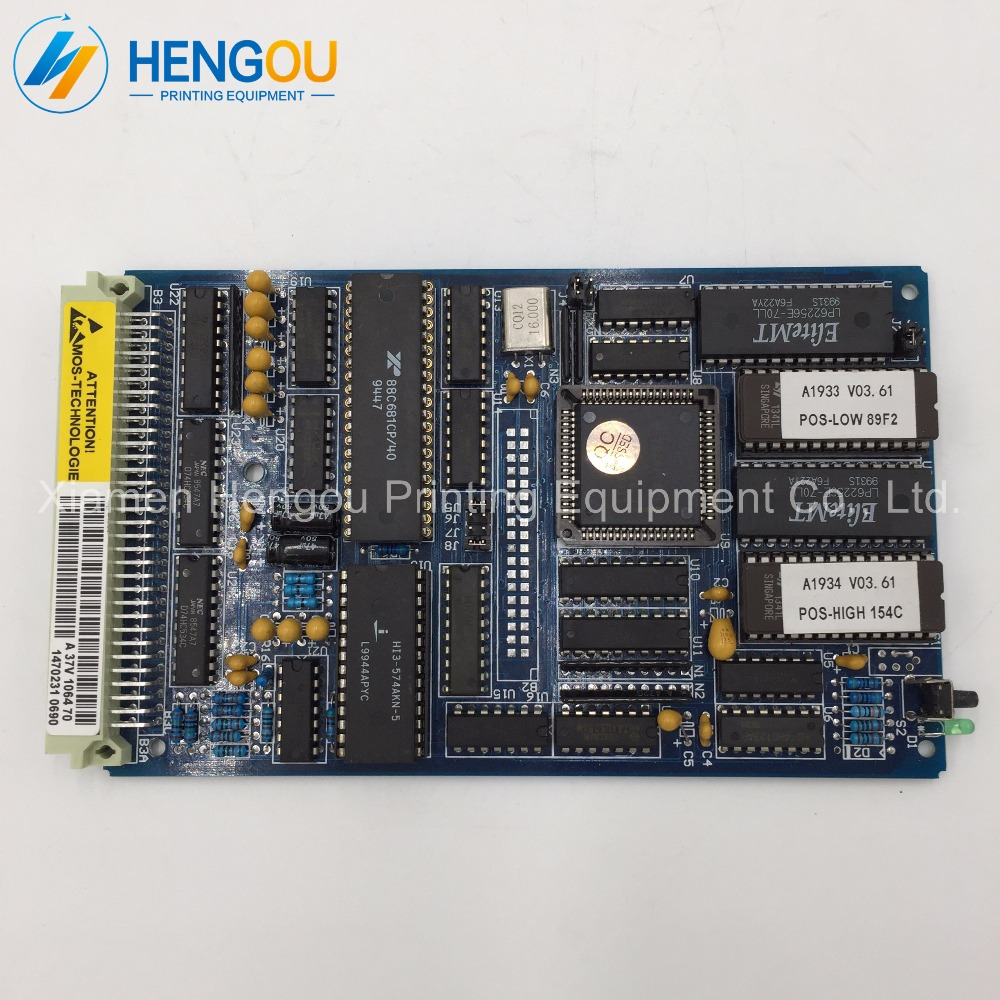 1 piece New DHL free shipping A37V1064-70 for Man roalnd 700 machine roland board A37V1064 5 pieces dhl free shipping man roland 700 sensor roland machine 700 water sensor