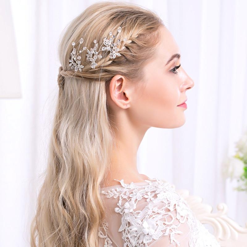 Заколки для волос свадебные