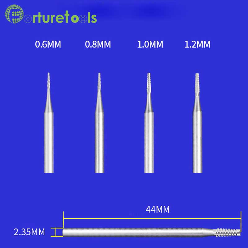 Frez wolframowy typu B Zęby Frezarki narzędzia dremel do - Narzędzia ścierne - Zdjęcie 5