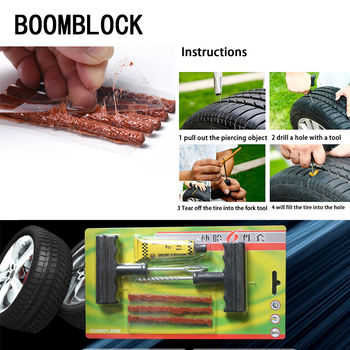 BOOMBLOCK Facelift Professional Car Tire Repair Tool Kit For For BMW e90 e60 e39 e46 f10 F30 VW Golf 7 Passat b6 Peugeot 206 image