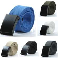 Free Shipping Fashion Men's Webbing Waist Belt Waistband Unisex Casual Sports Canvas Belt 3cm colorful webbing waist belt fashion unisex plain webbing waist belt waistband casual canvas belt