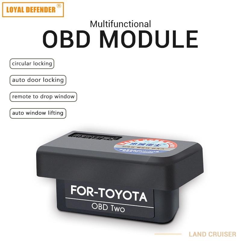 Car Auto OBD For Toyota Plug And Play Window Closing&speed Lock&mirror Folding Auto OBD2 Switch