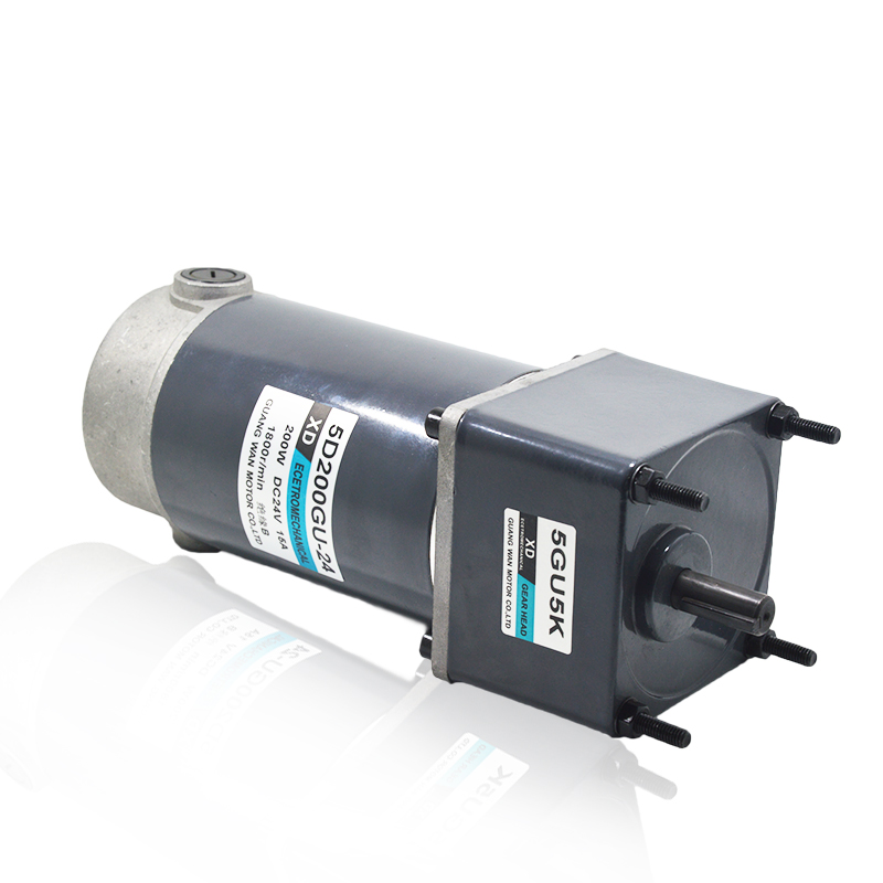 200W DC gear motor 12V24V gear low speed motor micro speed control two - way small motor цена 2016