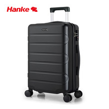 Hanke Travel Trolley Case Luggage Bag Men Women Suitcase Spinner Wheels Rolling Luggage 20 24 Inch Carry-Ons Dropshipping H9800(China)