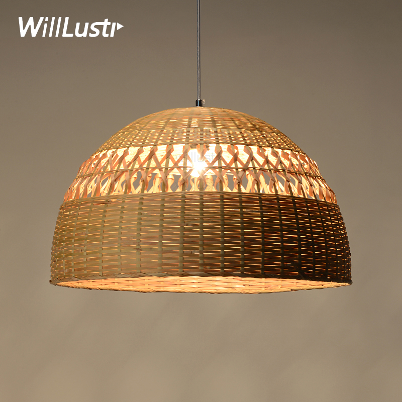 Willlustr bamboo pendant lamp dinning living room suspension light handmade hollowed-out work hotel restaurant hang lighting chinese style bamboo pendant light dinning room suspension lamps bar restaurant study kitchen office pendant lamp