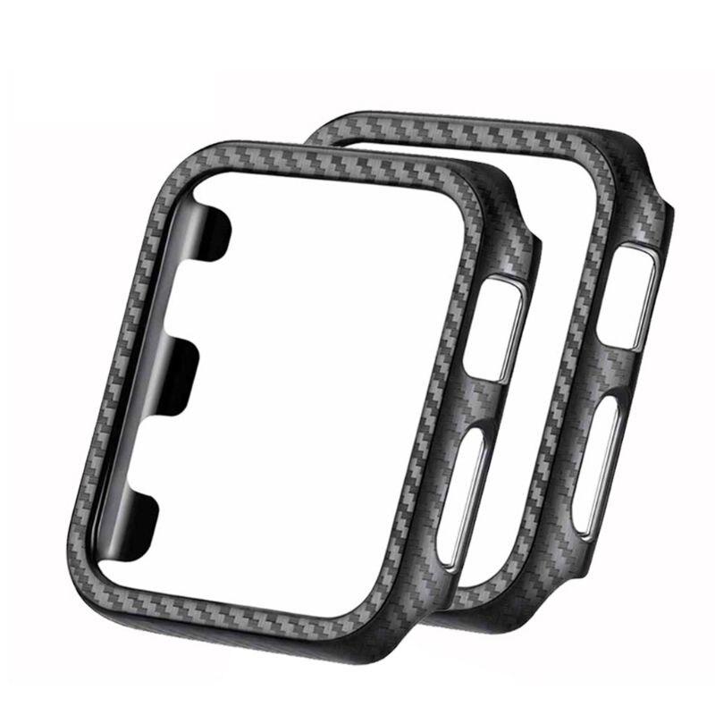 Videospiele Unterhaltungselektronik Schutzhülle Stoßstange Carbon Fiber Pc Rahmen Coveruniversal Smart Uhr Zubehör Für Apple Iwatch 1 2 3 KöStlich Im Geschmack