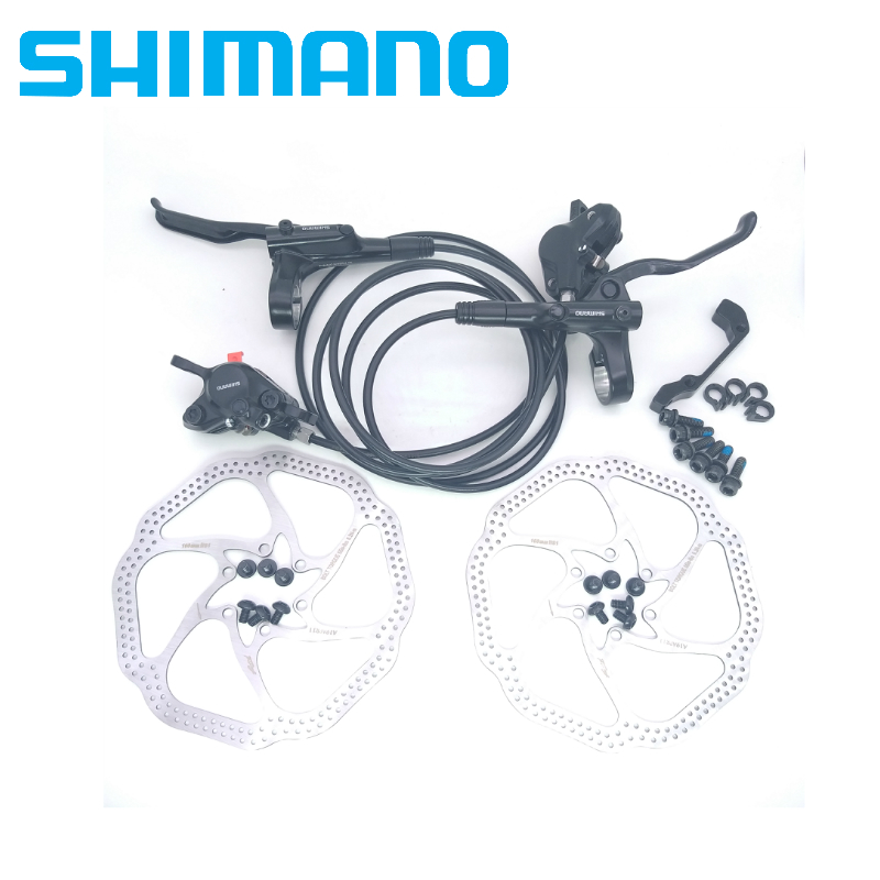 Shimano MT200 M315 bike Brakes mtb mountain bicycle Hydraulic Disc brake set clamp BR BL mt200