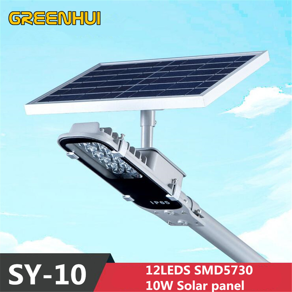 2015NEW Solar Lamp light Sensor Lighting solar Panel LED Street Light Outdoor Path Wall Emergency Lamp Security Spot Light IP65