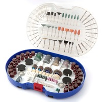 FATCOOL 276PC Rotary Tool Accessories for Dremel Bit Set Engraver Abrasive Power Tools Accessories