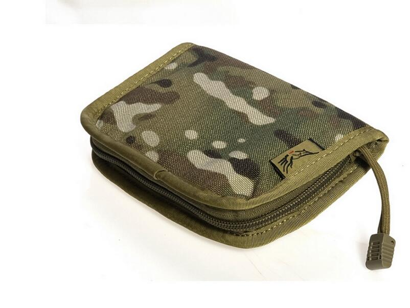 Free shipping In stock FLYYE genuine MOLLE MID NECK Wallet Military camping hiking modular combat CORDURA PH-A025 cb 8008