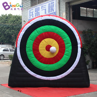 Free shipping 3X1X2.5m inflatable dart board with balls for carnival games hot sale dart game soccer game for kids outdoor toys