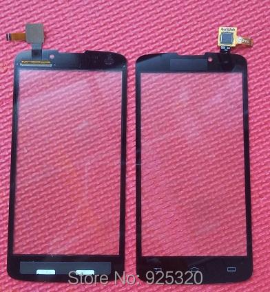 Frete grátis, preto da Tela de Toque para a Philips V387 CTV387 vidro sensível ao toque para Xenium móvel Celular Smart phone