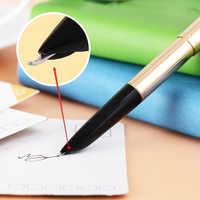 Ручка для каллиграфии из чистого алюминия Hero 335, классический перьевой наконечник, бесплатная доставка