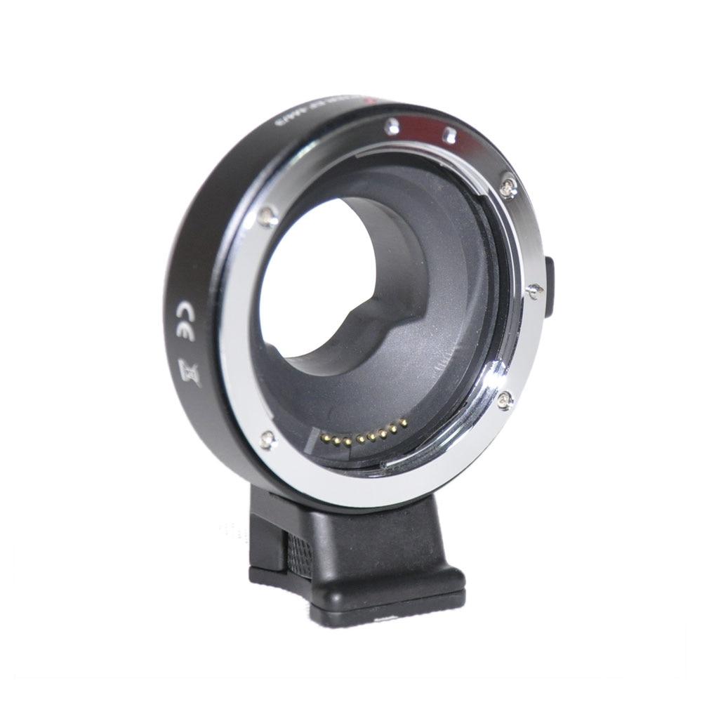 все цены на JINTU Manual Electronic Mount Adapter EF-MFT for Canon EOS EF EF-S Lens to Panasonic Lumix DMC-GH1 GH2 GH3 GH4 GH5 GX7 G1 G2 G10 онлайн