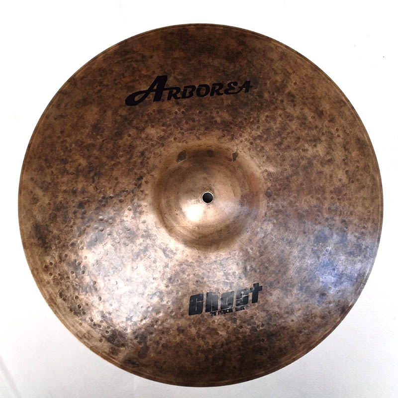 Arborea Solid Ghost Series 20 ride cymbal arborea ghost cymbal set on sale