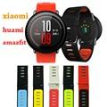 2016 novo para xiaomi huami amazfit assista silicone strap smart watch band esportes amazfit substituir eletrônico relógio de pulso banda