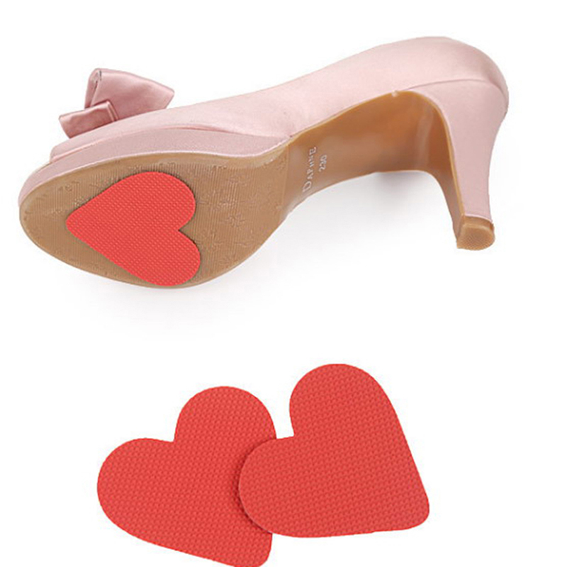 2PCS/ Pair  Durable Heart shape Non Slip Sticker Vinyl Resin Self-Adhesive Anti Slip Sole Shoe Protector Pads Insoles Cushion2PCS/ Pair  Durable Heart shape Non Slip Sticker Vinyl Resin Self-Adhesive Anti Slip Sole Shoe Protector Pads Insoles Cushion