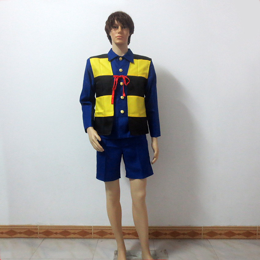 GeGeGe no Kitaro Cosplay Kitarou Costume Christmas Party Halloween Uniform Outfit Customize Any Size