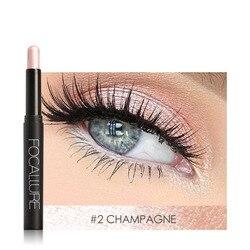 FOCALLURE Professional Single Eye shadow Matte easy to wear pigment stick women beauty Nude Eyeshadow pencil