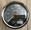 100% Brand New GPS Speedometer Speed Chart Motormeter 200km/h with GPS Antenna Black Color