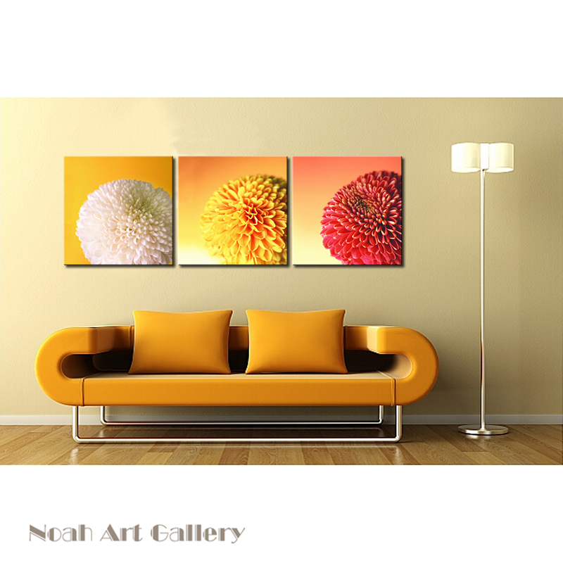High Definition Digital Oil Painting Flower Canvas Print on Fabric ...