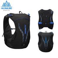 AONIJIE 5L Vest Pack Breathable Lightweight Trail Hydration Backpack Bag Water Bladder Bottle Marathon Running Hiking Cycling