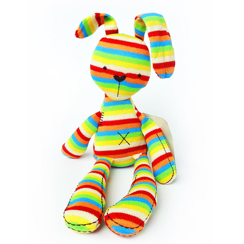 50cm Baby soft Rainbow Rabbit Plush Toy Doll Kids Plush Toy CY0463 50cm cute plush toy kawaii plush rabbit baby toy baby pillow rabbit doll soft children sleeping doll best children birthday gift