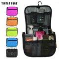 Tinyat homens mulheres produtos de higiene pessoal saco de lavagem de viagem saco graciosa feminino makeup travel bag caso t702 preto