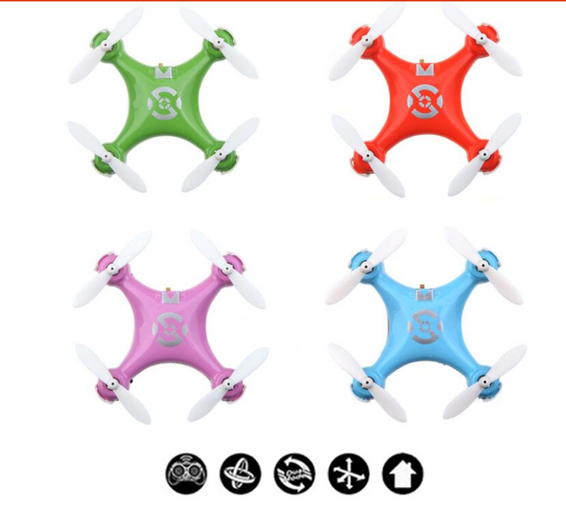 mini rc drone CX10 Mini Drone 2.4G 4CH 6 Axis LED RC Quadcopter Toy with LED light remote control Toys for Children best gifts