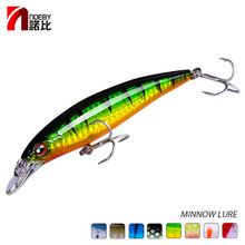 Buy Noeby Minnow fishing lure Hard Bait 100mm13.6g 120mm22.0g sea fishing Pesca japan hooks for bass pike perch directly from merchant!