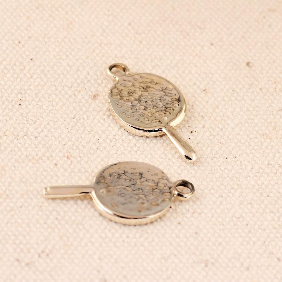 Wholesale Enamel Alloy Charms 13*26MM Lolipop Candy Pendant Charm Crafts 100Pcs 30PCs Oil Drop Metal Bracelet Kawaii Pendants