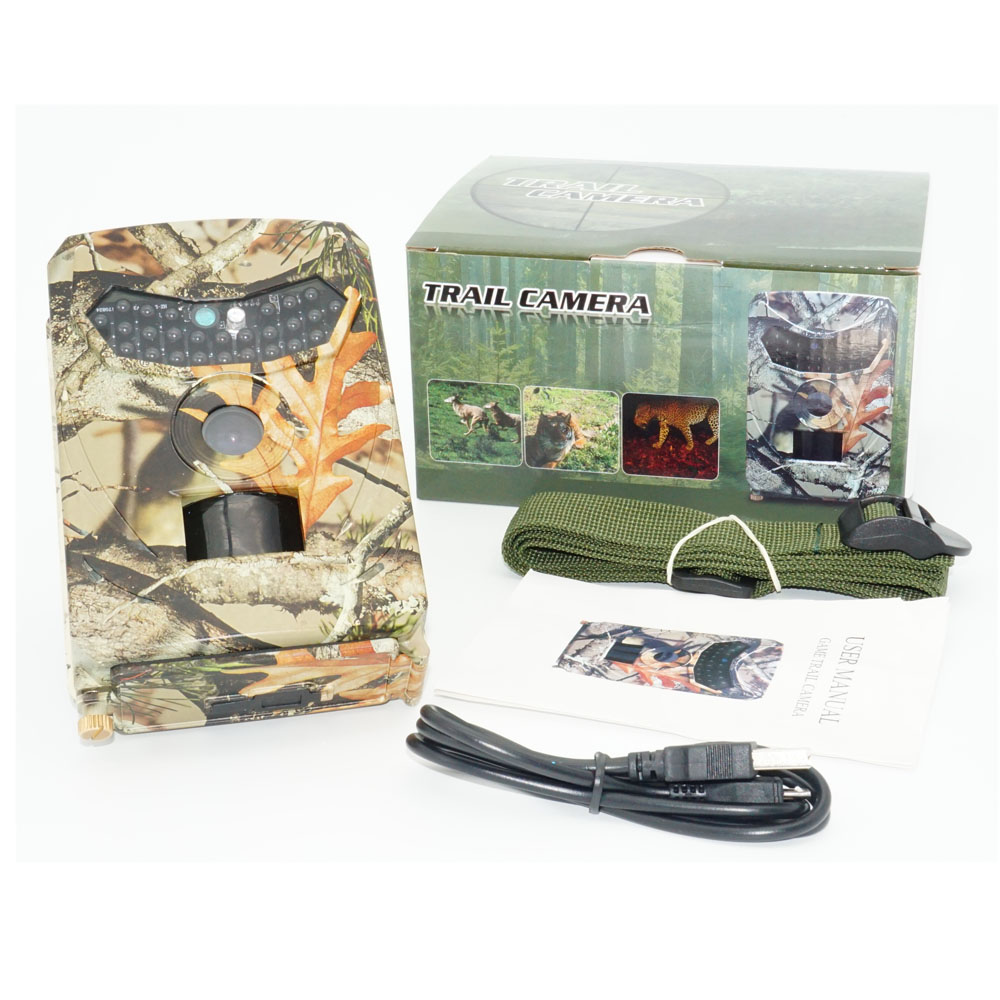 Wildlife font b Hunting b font Camera 12MP 1080P 120 Degrees PIR 940NM Infrared Scouting Game