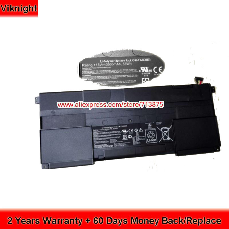 Genuine C41-TAICHI31 TAICHI 31 Battery for Asus TAICHI 31 31-CX003H 15V 3535mAh цена