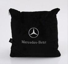 Автомобилей для укладки наволочка, одеяла, подушки для Mercedes-Benz W203 W210 W211 W204 AMG B C E CLA GLK GLC мл аксессуары класса