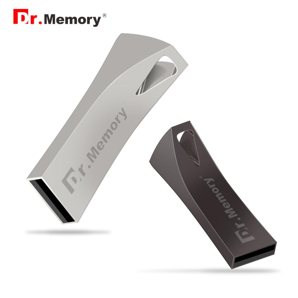 Waterproof USB Flash Drive Disk 32GB 64GB 128GB USB 2.0 Metal Minien Drive Pendrive Memory Stick Storage Device U Disk