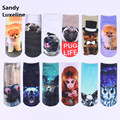 20 Types 3D Harajuku Socks Women Fashion Funny Cartoon Socks Men Cotton Unisex Socks Pattern Meias Feminina Cheap Sale 010