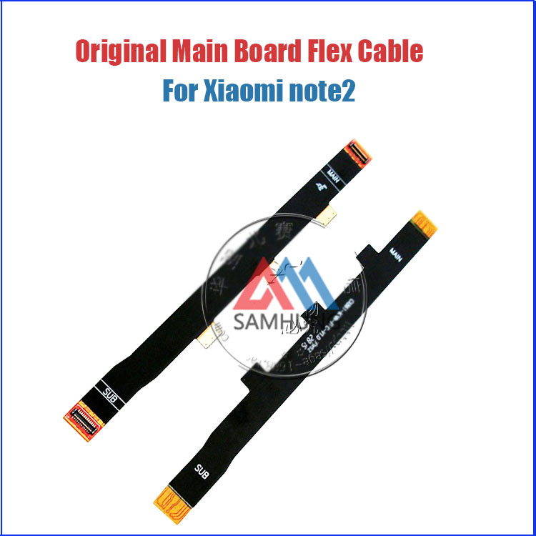 Original Main Board Flex Cable for Xiaomi Redmi Note 2 Prime USB Board and Motherboard Connector Replacement Parts Brand New