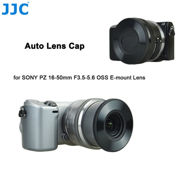 sony 16 50mm. jjc z-s16-50 auto lens cap for sony pz 16-50mm f3 sony 16 50mm