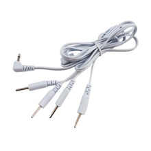 Electric shock wire electrical stimulation cable patch cord electro sex toys