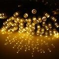 10 M 100 LEVOU À Prova D' Água 5 Funções Bateria Operado Luzes LED String Para O Natal Festa de Casamento Guirlanda Decoração Luzes De Fadas