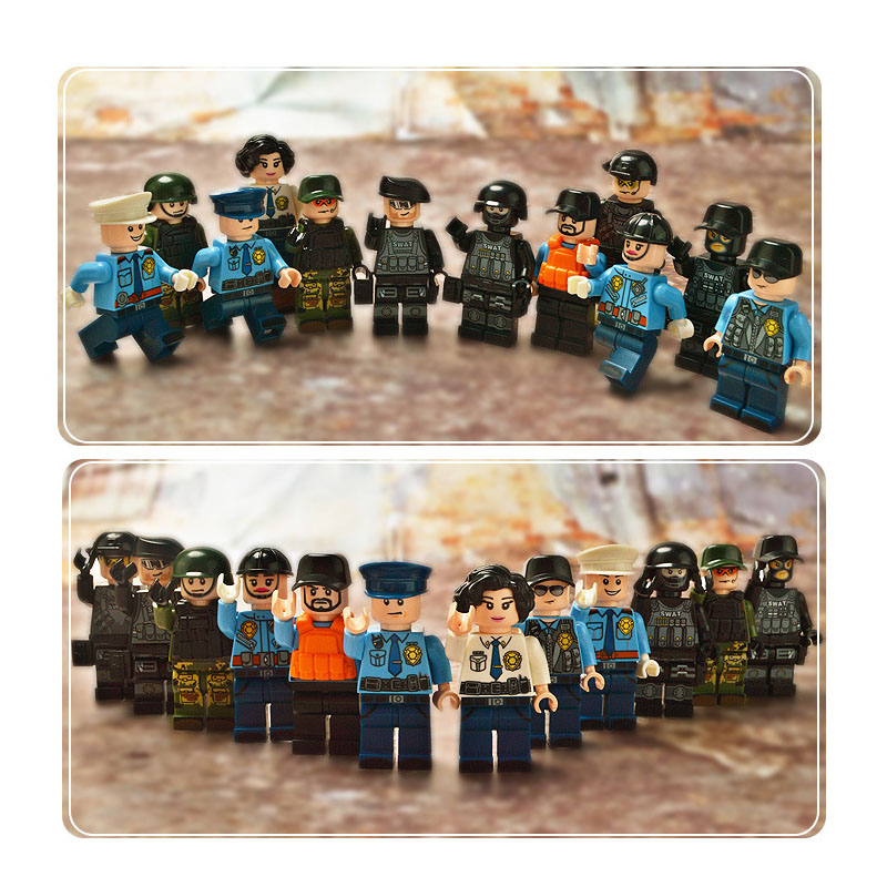 Military Special City Police Building Block SWAT Armed Soldiers Force Legoings City Dolls Action Figures Weapons Kids Toys BoyMilitary Special City Police Building Block SWAT Armed Soldiers Force Legoings City Dolls Action Figures Weapons Kids Toys Boy